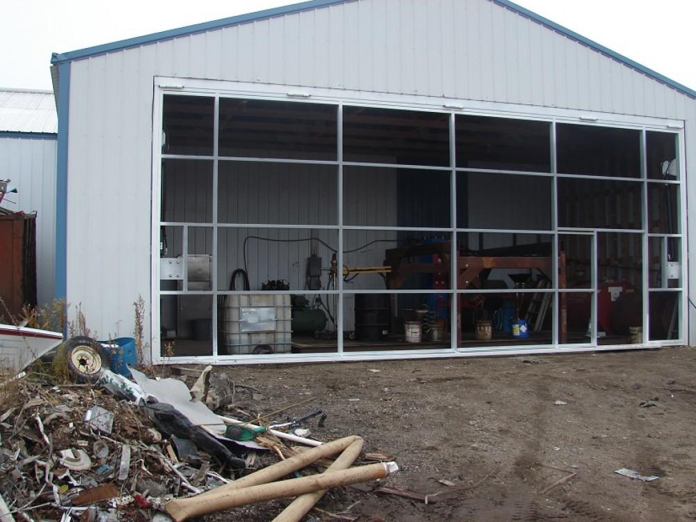 hydraulic door scrap yard premier door company & Hydraulic Doors Manufacturer- Premier Door Company