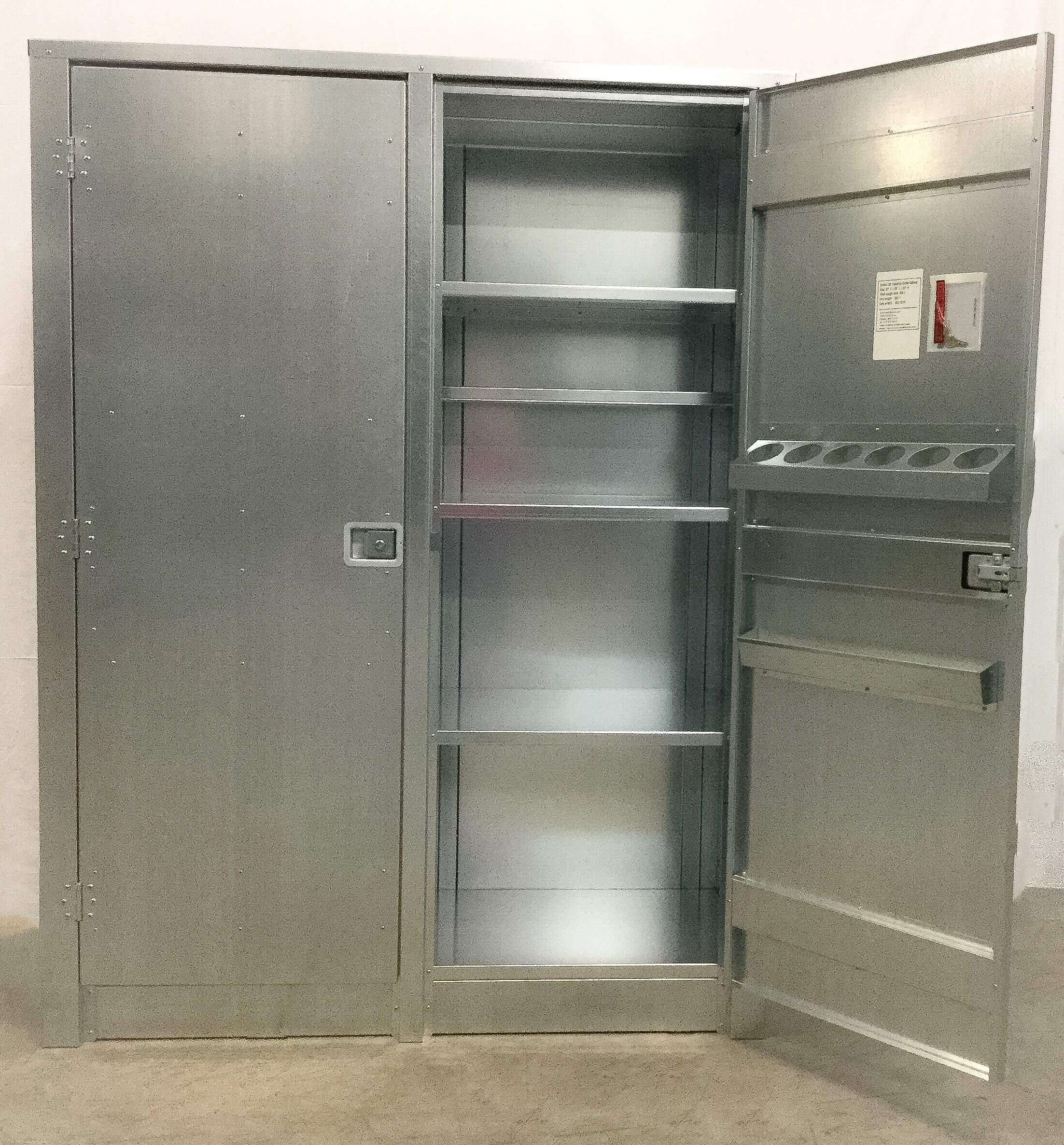 Metal Storage Cabinet with doors - Premier Door Company